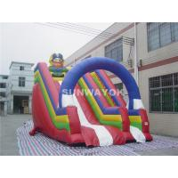 Wholesale For Kids Colorful Pirate theme Commercial Inflatable Slide With Inflatable  PVC Arch. from china suppliers