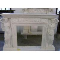 Buy cheap Stone Carved Fireplace from wholesalers