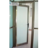 Wholesale Customized 6063-t6 Aluminium Door Profiles Powder Coating or Bronze from china suppliers