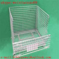 Wholesale welded wire mesh security cage/pallet cage/storage cage/metal bin/metal storage building/metal storage sheds/wire cage from china suppliers