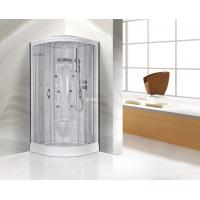 Wholesale Transparent Glass Corner Shower Cabins , Corner Entry Shower Enclosure from china suppliers