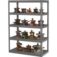 Wholesale Medium Gray Portable Storage Shelving Racks Garage Storage Units Anti Rust from china suppliers