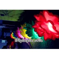 Quality Customized Inflatable Led Flower Chian with Light for Concert and Wedding Night for sale