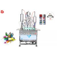 Wholesale 450ml Aerosol Spray Paint Filling Machine from china suppliers