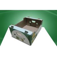 Wholesale Water - ink Printing Corrugated Carton Boxes , Recyclable Paper Box for Shipment from china suppliers
