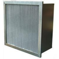 Buy cheap Washable High Temp Mini Pleat Hepa Air Filter High Efficiency With Pleated / Clapboard from wholesalers