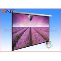 Wholesale Retractable Tensioned Projection Projector Screen 120 Inch With Romote from china suppliers