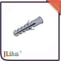 Wholesale Nail Screw Nylon Anchor Plastic Wall Plug , Plastic Screw Anchor M12 X 60 from china suppliers