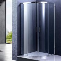 Wholesale Chrome Frame Quad Sliding Shower Enclosure , Glass Bathroom Shower Door from china suppliers
