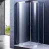 Buy cheap Chrome Frame Quad Sliding Shower Enclosure , Glass Bathroom Shower Door from wholesalers