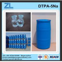 Wholesale light yellow DTPA-5Na liquid from china suppliers