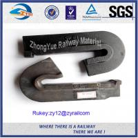 Wholesale Low Carbon Steel Plain Railway Cast Iron Rail Shoulder For Elastic Clip from china suppliers