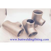 Wholesale Butt Weld Fittings 2''x1-1/2'' SCH10S Copper Nickel 90/10 ASME B16.9 Concentric Tee from china suppliers