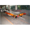 Buy cheap rail flat car rail transport car 40ton load capacity battery power 48V voltage DC from wholesalers