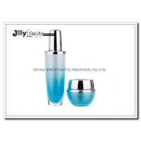 Wholesale Gradient Blue Empty Lotion Containers Capacity 30 Ml Bottle Height 130 Mm from china suppliers
