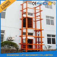 Wholesale 1000 kg Warehouse Cargo Hydraulic Lift Table with Anti Slip Safety Device from china suppliers