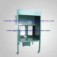 Wholesale Small Manual Powder Coating Spray Booth from china suppliers