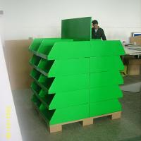 Wholesale 20 trays Corrugated Retail Cardboard Pallet Display UV Coating for Exhibitor from china suppliers