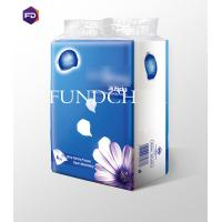 Wholesale Comfortable Soft Pocket Pack Tissues For Girls / Lady Travel , 4 Layers from china suppliers