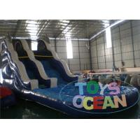 Wholesale Commercial Inflatable Water Slides , Kids Inflatable Pool Slide from china suppliers