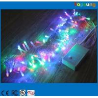 Wholesale Hot  sale 110v 120v 100led RGB twinkle Christmas string lights 10m flashing with controller from china suppliers