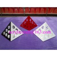 Wholesale Rotate Triangle Base Acrylic Coffee Capsule Display Stand / Acrylic Coffee Pod Holder from china suppliers