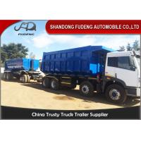 Wholesale Tipper Draw Bar Trailer  For Agricultural Goods , Dumping Trailers With Tow Bar from china suppliers