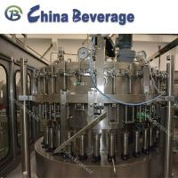 Quality Beverage Carbonated Drink Filling Machine 12000 BPH Air Pressure 0.7Mpa for sale