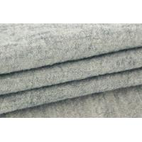 Quality Comfortable Boiled Wool Coat Fabric , Lightweight 100 Wool Felt Fabric for sale