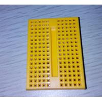 Wholesale Students DIY Yellow Mini Breadboard 170 Tie Point without Buckle from china suppliers