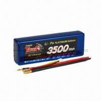 Wholesale 7.4V 3500mAh 30C Max 50C Tiger LiPo Battery for RC Car from china suppliers