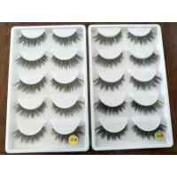Wholesale Makeup Natural Thick False Eyelashes Cross Messy Comfortable 10 pairs factory from china suppliers