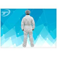 Wholesale Fully CPE Film Breathable Disposable Coverall Suit / Disposable Plastic Body Suit from china suppliers