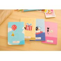 Wholesale Custom Colorful Printed Mini Notebooks ; Beautiful Mini note books for students ; Good wri from china suppliers