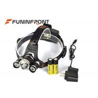Wholesale 30W Powerful 3000LMs 3 X CREE T6 Outdoor Bicycle Led Headlamp Camp Headlight from china suppliers