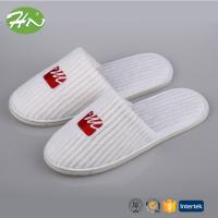 Wholesale New Luxury Warm Coral Fleece Closed Toe Hotel Slipper ISO8124 from china suppliers