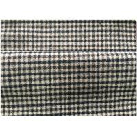 Wholesale 600 G / M Little Tartan Plaid Fabric With 30 Wool 70 Synthetic In Stock from china suppliers