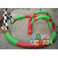 Wholesale Small Digital Printing Inflatable Go Kart Racing Track For Kids Karting Car Event from china suppliers