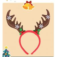 Wholesale Lovely Christmas Plush Hairband Headband Hairpin For Playing from china suppliers