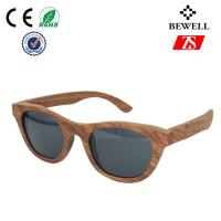 Wholesale Small 100% Natural Bamboo Wooden Frame Sunglasses , Wood Eyewear from china suppliers