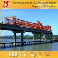 Wholesale 2015 Heavy Load 50ton cabin control electric railway bridge launching crane from china suppliers