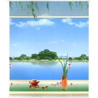 Wholesale Spring Polyester Patterned Roller Blind Manual Control Embossed from china suppliers