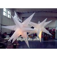 Wholesale Hot 10 Pointed Decorative Inflatable Star with LED Light for Exhibition and Event from china suppliers