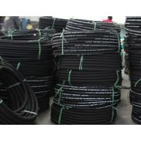 Quality SAE100 R1 AT/ EN853 1SN wire braid hydraulic rubber hose high pressure oil hose for sale