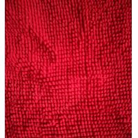 Buy cheap Microfiber 1200gsm Red Big Chenille 150cm Width Widely Used Like Mats Gloves from wholesalers