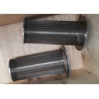 Wholesale Stainless Steel Wedge Wire Screen Filter Strainer for filtration from china suppliers