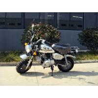 Buy cheap 125cc Mini Dirt Bike Motorcycle Motorrad Chrome Edition With 4 Speed Gear from wholesalers