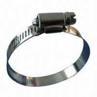 Wholesale American Type Worm Drive Hose Clamp/1/2-inch Wide Band, 300 Series Stainless Steel from china suppliers