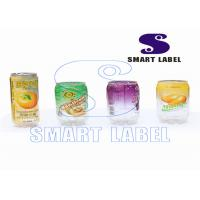 Wholesale Plastic Custom Shrink Wrap Labels Food Can Labels 40 Micron 6 Colors from china suppliers
