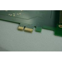 Wholesale FR4 Green Solder Mask Heavy Gold Finger Multilayer Custom PCB Boards from china suppliers